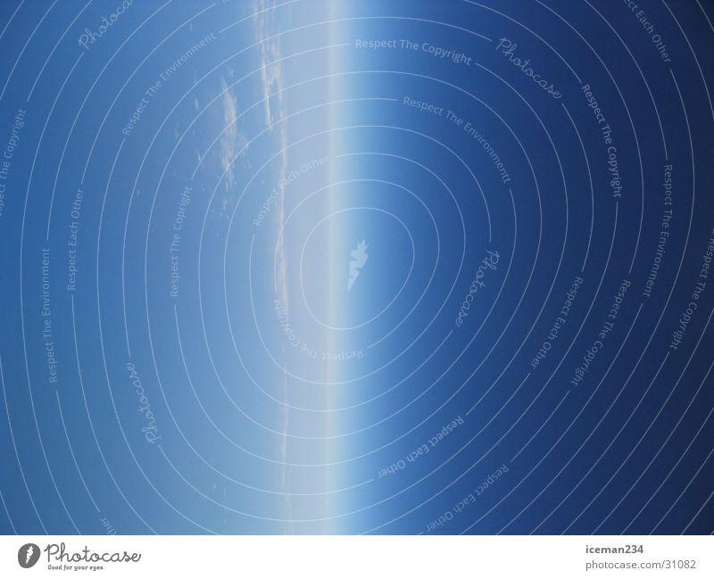 Luft und Raum Himmel Ferien & Urlaub & Reisen Wolken Horizont Erde Weltall