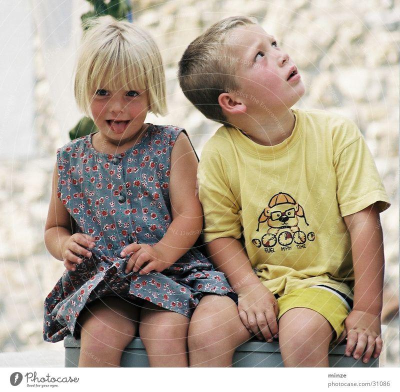 freunde2 Kind Freude Spielen Freundschaft