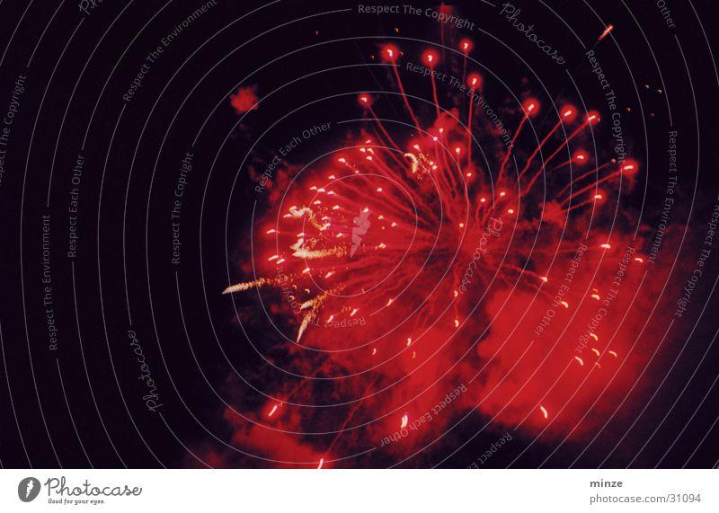 Change rot Silvester u. Neujahr Feuerwerk Feste & Feiern Farbe