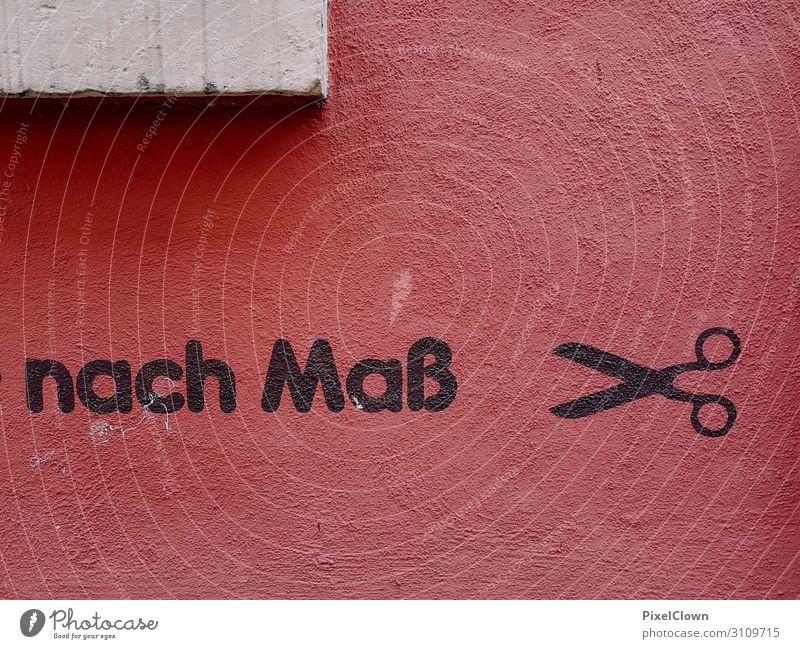 Graffiti Lifestyle Design schön Arbeitsplatz Werbebranche Ausstellung Kultur Jugendkultur Subkultur Stadt Mauer Wand Fassade Beton Arbeit & Erwerbstätigkeit rot