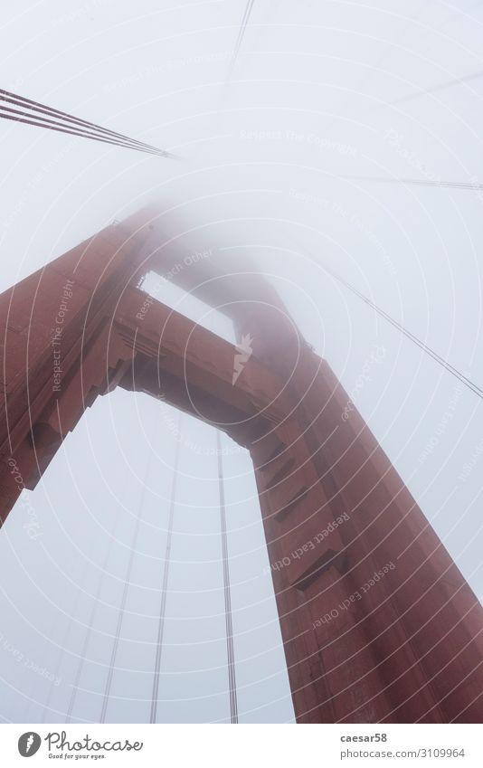Bridge Pillar of the Golden Gate Bridge, California/USA Erholung Ferien & Urlaub & Reisen Tourismus Ferne Freiheit Sightseeing Städtereise Architektur
