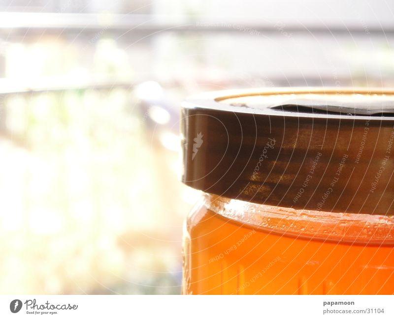 gelee royal Honig gelb Gegenlicht Biene Freizeit & Hobby Glas gold Brotaufstrich klebrig orange