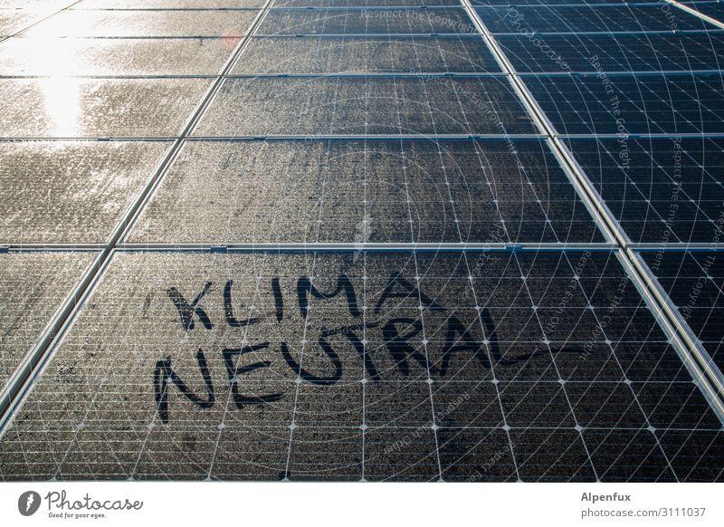 Klimaneutral Wissenschaften Energiewirtschaft Erneuerbare Energie Sonnenenergie Entschlossenheit Erfolg Fortschritt bedrohlich Gesellschaft (Soziologie)
