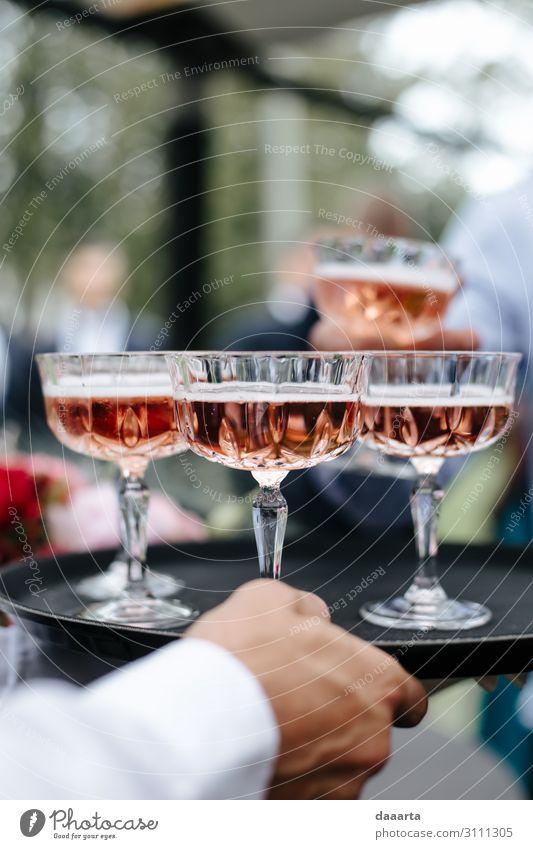 Getränke für alle trinken Sekt Prosecco Champagner Longdrink Cocktail Glas Lifestyle elegant Stil Design Freude Leben harmonisch Freizeit & Hobby Abenteuer
