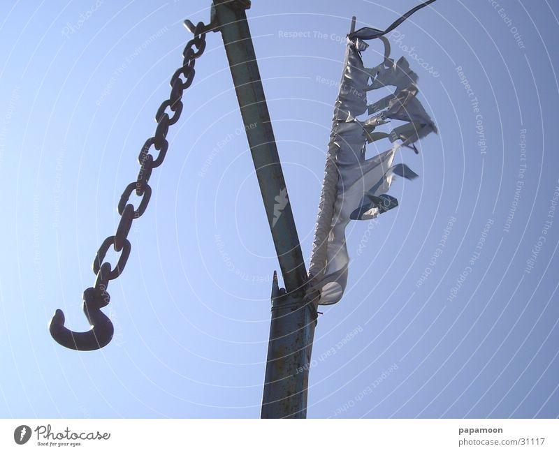 windhook Haken Galgen Steg Elektrisches Gerät Technik & Technologie Kette Wind