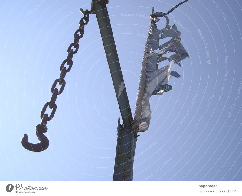 windhook Wind Technik & Technologie Steg Kette Haken Elektrisches Gerät Galgen