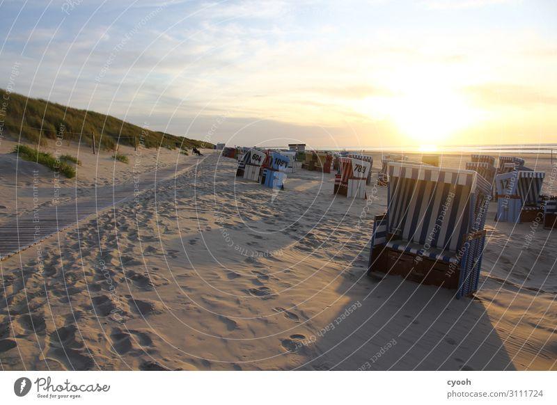 Inseltraum Schönes Wetter Nordsee beobachten träumen frei frisch hell Glück Zufriedenheit Lebensfreude Kraft Freizeit & Hobby Frieden genießen Horizont Idylle