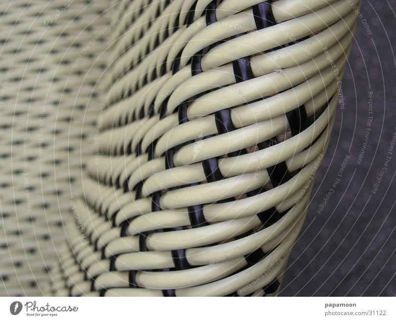 sit down netzartig diagonal Sitzgelegenheit Freizeit & Hobby Stuhl Rückenlehne verrückt Korbgeflecht binden Nervosität