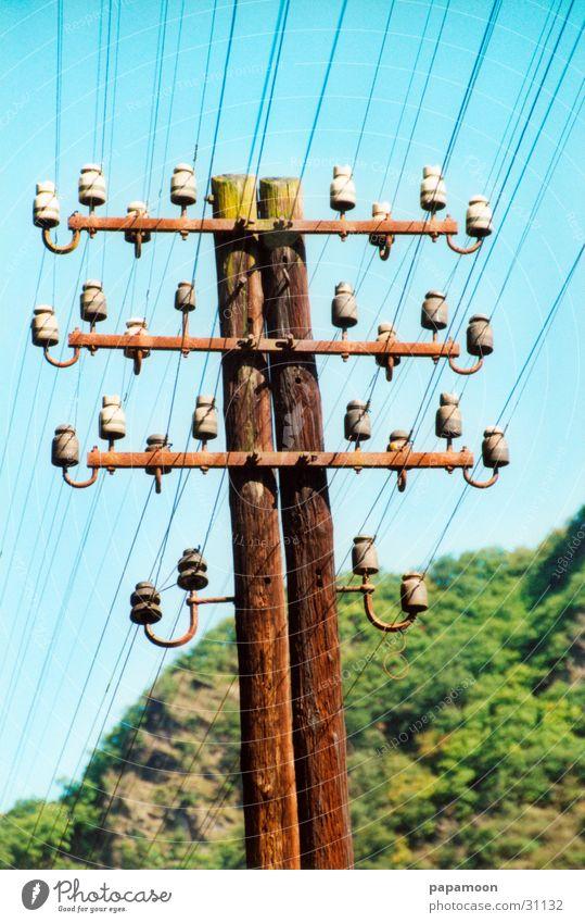 birds-parking Elektrizität Strommast Leitung Entertainment Isolatoren