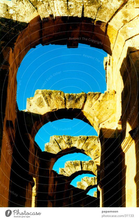 doors to heaven Himmel Sonne Handwerk Ruine Torbogen