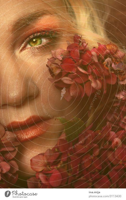 Meine Augen sahen... Mensch feminin Junge Frau Jugendliche Erwachsene Leben 1 18-30 Jahre 30-45 Jahre Schauspieler Pflanze Haare & Frisuren blond ästhetisch