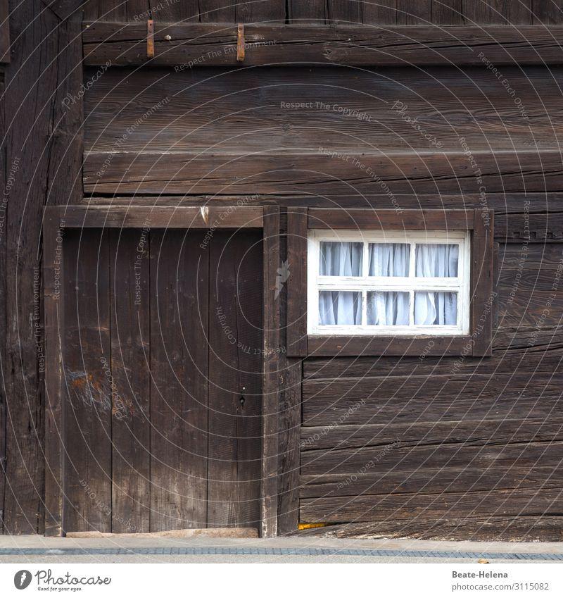 Schwarzwaldhaus Ferien & Urlaub & Reisen Häusliches Leben Landwirtschaft Forstwirtschaft Haus Gebäude Architektur Bauernhof Mauer Wand Fassade Fenster Tür Holz