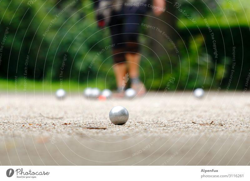 Fingerspitzengefühl   von Vorteil Sport Boule Spielen Optimismus Erfolg Zufriedenheit Bewegung Business Erholung Erwartung Fitness Freude Freundschaft