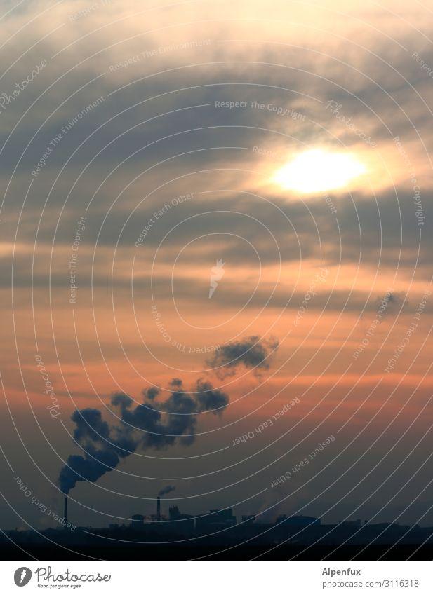 Ozonloch Kohlekraftwerk Industrie Angst Zukunftsangst Ärger Endzeitstimmung Energie bedrohlich Gerechtigkeit Gesellschaft (Soziologie) Hoffnung Idee innovativ