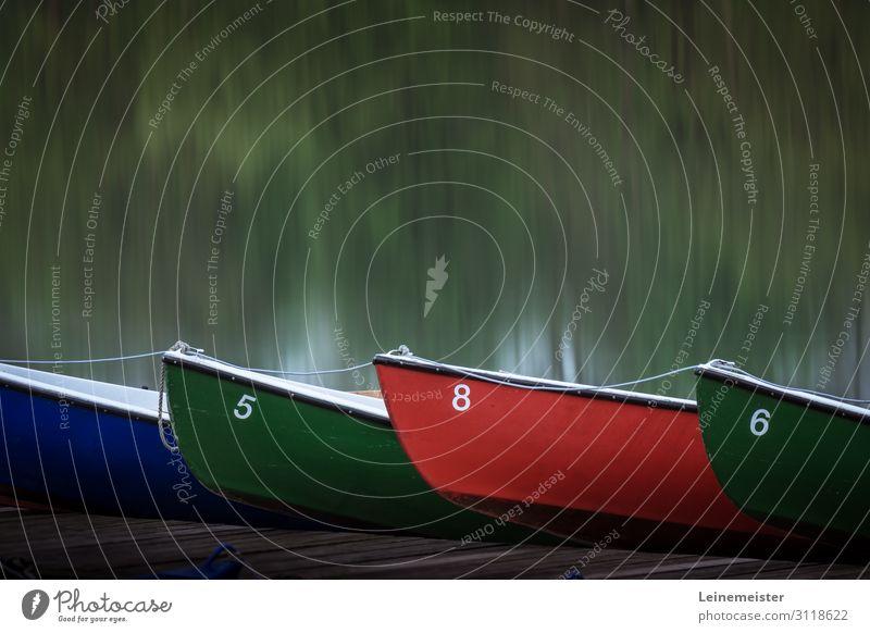 Maschseeboote Erholung ruhig Freizeit & Hobby Wassersport Ruderboot Schönes Wetter Seeufer Hannover Deutschland Stadt nachhaltig grün Wasserfahrzeug