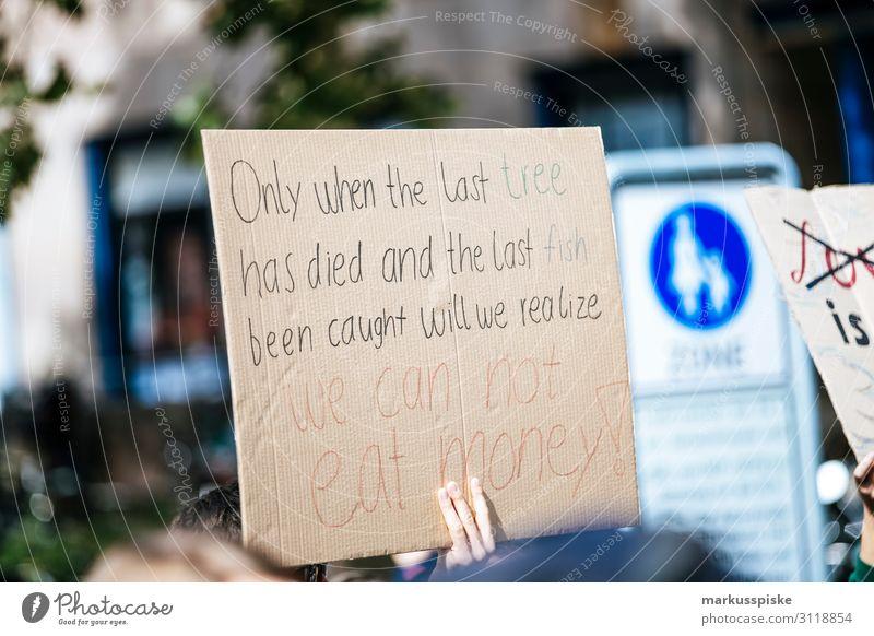 Only when the last tree had died... Kind Hintergrundbild Frieden Student Generation Desaster Planet Demonstration global