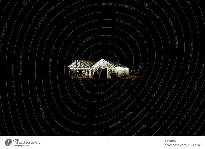 Nachtveranstaltung Lifestyle elegant Stil Freude Leben harmonisch Freizeit & Hobby Ausflug Abenteuer Freiheit Häusliches Leben Traumhaus Dekoration & Verzierung