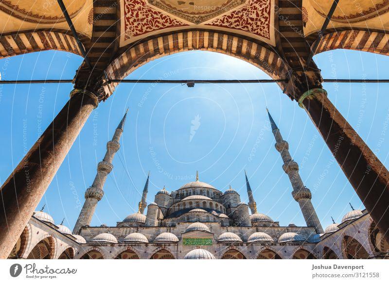 Blaue Moschee Ferien & Urlaub & Reisen Tourismus Ausflug Sightseeing Dom Bauwerk Gebäude Architektur Sehenswürdigkeit Wahrzeichen Religion & Glaube