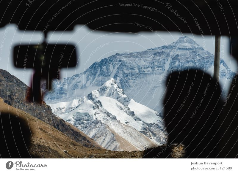 Mount Everest Ferien & Urlaub & Reisen Tourismus Ausflug Abenteuer Sightseeing Natur Berge u. Gebirge Gipfel Schneebedeckte Gipfel fahren Herausforderung China