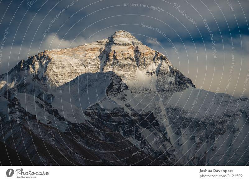 Mount Everest Ferien & Urlaub & Reisen Tourismus Abenteuer Sightseeing Natur Berge u. Gebirge Gipfel Schneebedeckte Gipfel schön Macht Herausforderung China