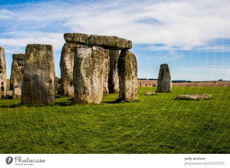 Stonehenge - Besucher-Magnet in England Wellness Zufriedenheit Ferien & Urlaub & Reisen Tourismus Ausflug Abenteuer Ferne Freiheit Sightseeing Sommer