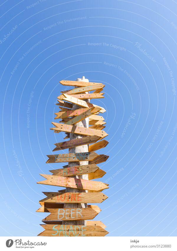 Freizeitorientiert Ernährung Freizeit & Hobby Ferien & Urlaub & Reisen Tourismus Sommer Sommerurlaub Sonne Strand ausgehen Himmel Wolkenloser Himmel