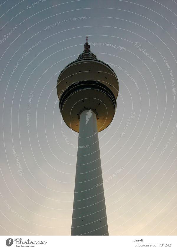 Mein Zuhause Himmel Architektur Hamburg Turm Frequenz