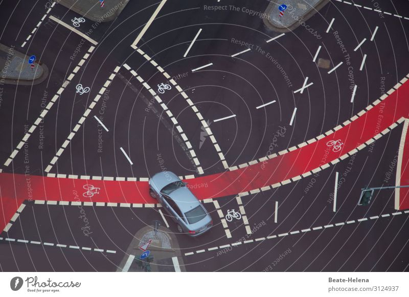 Verkehrsregelung Motorsport Verkehrswege verkehrsarm Maler Stadtzentrum Straßenverkehr Autofahren Fahrradfahren Straßenkreuzung Wege & Pfade Wegkreuzung PKW