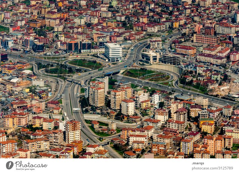 Istanbul Panorama (Aussicht) Vogelperspektive Gebäude Stadtzentrum Ferien & Urlaub & Reisen Tourismus Städtereise Architektur Naher und Mittlerer Osten