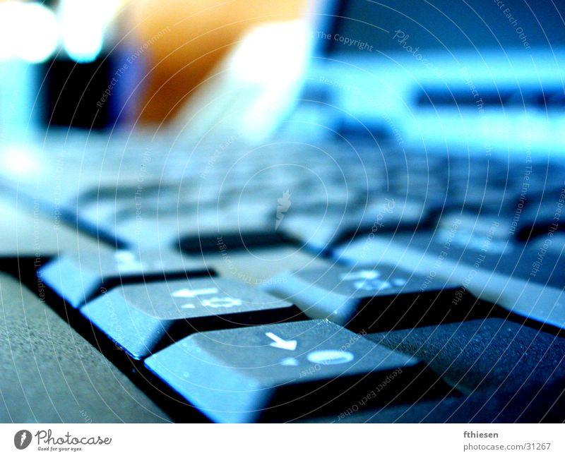 Keyboard Blue keyboard