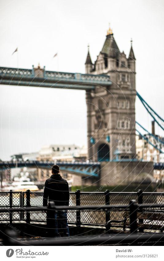 unterwegs in London Lifestyle Reichtum Stil Design Ferien & Urlaub & Reisen Tourismus Ausflug Mensch maskulin Junger Mann Jugendliche Erwachsene Leben 1 Kunst