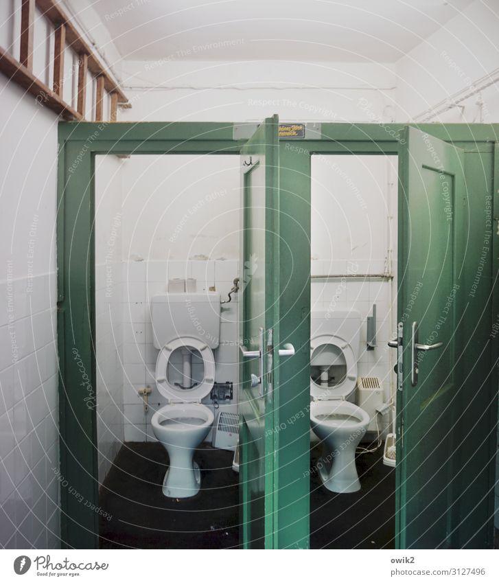Tag der offenen Tür Griff Toilette Toilettenspülung Leiter Freundlichkeit Sauberkeit ruhig Reinlichkeit Hilfsbereitschaft Hoffnung Konkurrenz