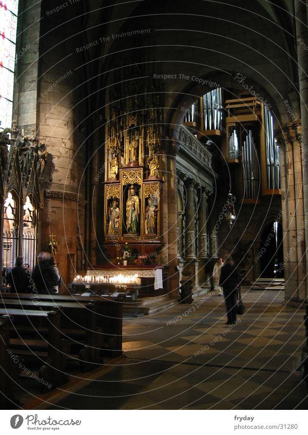 freiburger münster Altar Gotteshäuser Freiburg im Breisgau Münster Religion & Glaube andächtig