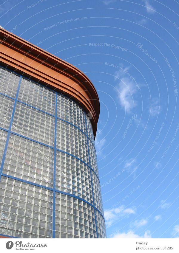 glasgow rangers Himmel Wolken Fenster Gebäude Architektur Glas Stadion Glasgow