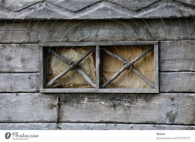Schönes Fenster in einem Haus im Wikingerdorf Hintergrundbild Bayern schön Tag Europa Berühmte Bauten Deutschland Ferien & Urlaub & Reisen Reisefotografie Dorf