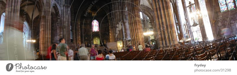 Straßburger Altar II Mensch Raum Religion & Glaube groß Panorama (Bildformat) Gotteshäuser Straßburg Altar