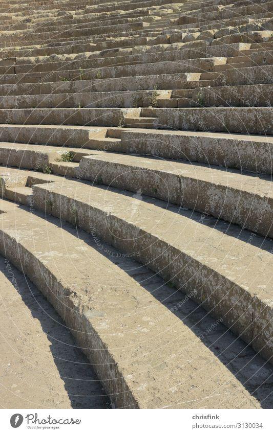 Stufen im Amphitheater Design Feste & Feiern Sport Sportstätten Sportveranstaltung Stadion Kunst Kunstwerk Theater Bühne Schauspieler Veranstaltung Bauwerk