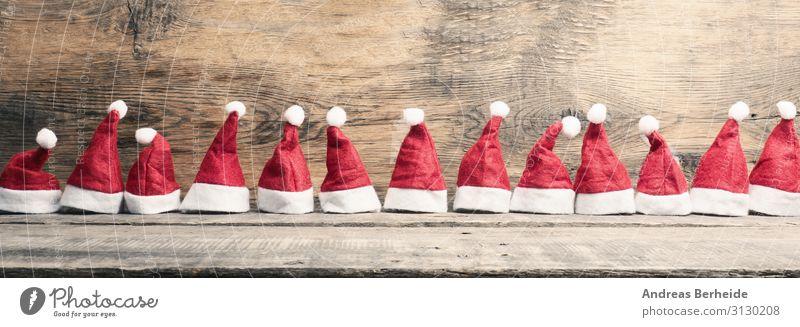 Weihnachtsmann Mützen Parade Stil Winter Weihnachten & Advent Arbeitsbekleidung Hut Dekoration & Verzierung Freude kaufen Tradition fluffy set december hat