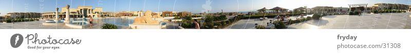 poolsite360 Panorama (Aussicht) Weitwinkel Schwimmbad Ägypten Hotel Zufriedenheit Poolanlage groß Panorama (Bildformat)