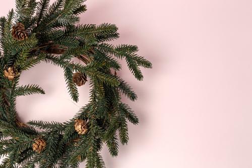Hintergrund mit Weihnachtsdekoration Komposition Design Glück Winter Dekoration & Verzierung Tisch Feste & Feiern Weihnachten & Advent Familie & Verwandtschaft