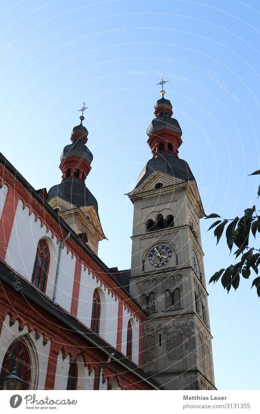 Liebfrauenkirche Hinteransicht, Koblenz, Oktober 2018 Tourismus Ausflug Sightseeing Städtereise Kunst Stadt Altstadt Kirche Marktplatz Architektur