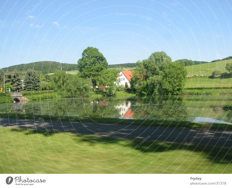 See Residenz Wasser Baum Bewegung See Geschwindigkeit