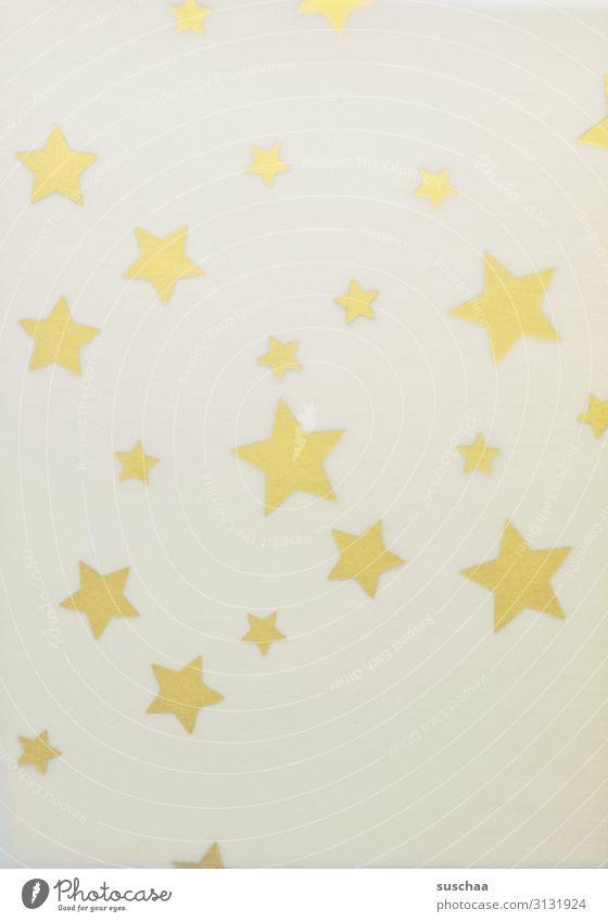 sterne, durchschimmernd Stern (Symbol) Sterne viele einfach Hintergrund neutral Verschiedenheit zart transparent durchsichtig Beleuchtung Unschärfe