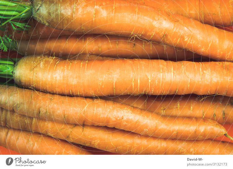 Möhren Lebensmittel Gemüse Mittagessen Bioprodukte Vegetarische Ernährung Diät Fasten Lifestyle kaufen Stil Design Gesundheit Gesundheitswesen Gesunde Ernährung