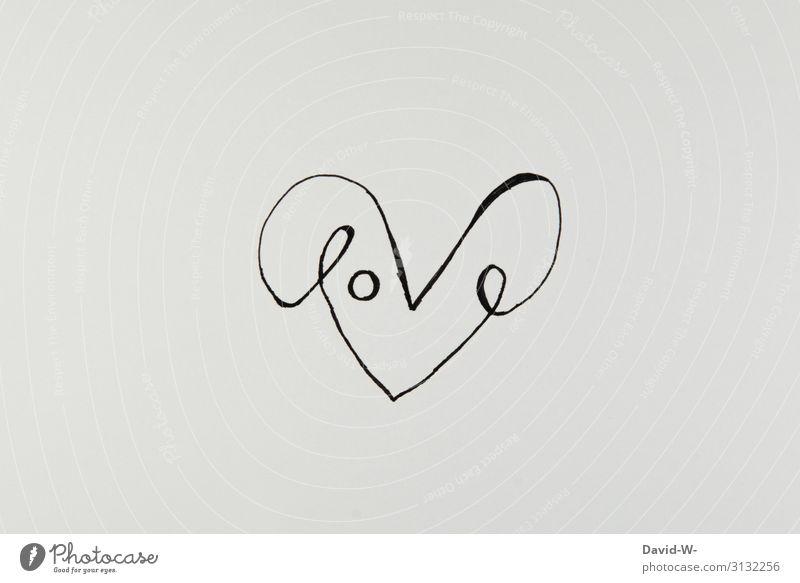 Love Herz Schriftzug Liebe Zeichnung Kreativität kreativ Kunst Art Darstellung Valentinstag herzlich Wort Wortspiel wortspielerei Gefühle Menschenleer Romantik