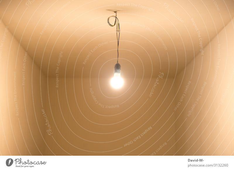 Licht an Design sparen Häusliches Leben Wohnung Haus Hausbau Umzug (Wohnungswechsel) einrichten Innenarchitektur Lampe leuchten Elektrizität Idee Glühbirne