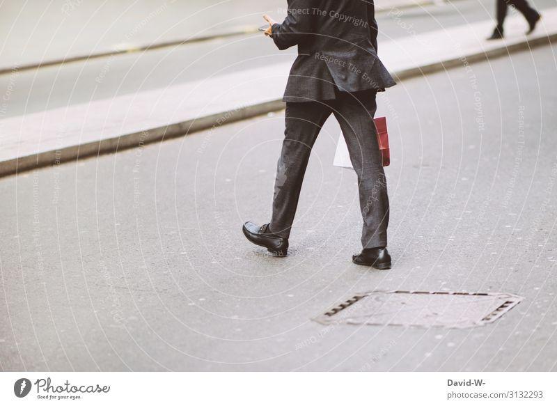 business Lifestyle kaufen Reichtum elegant Stil Design Geld Arbeit & Erwerbstätigkeit Telekommunikation Business Karriere Mensch maskulin Junger Mann