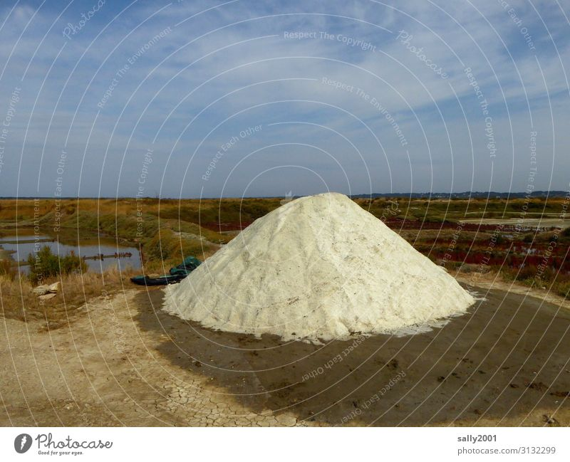lebensnotwendig   Salz... Salzgewinnung Meersalz Frankreich Gewürz Berg weiß kostbar Lebensmittel Kräuter & Gewürze Gesundheit Ernährung