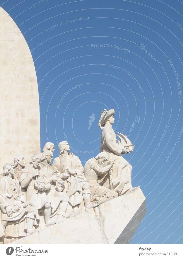 ahoi Portugal Lissabon Belém Padrão dos Descobrimentos Seemann Denkmal Europa