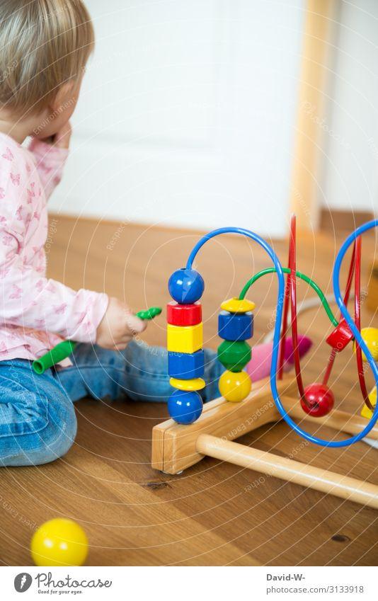 spielen Freizeit & Hobby Spielen Häusliches Leben Wohnung Raum Kinderzimmer Mensch feminin Kleinkind Mädchen Kindheit Kopf 1 1-3 Jahre Kunst gebrauchen